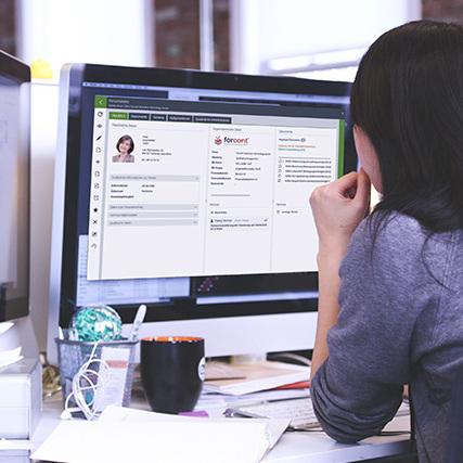 Digitales Personalmanagement im Einsatz