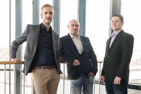 Das Team der forcont IT-Services-Abteilung