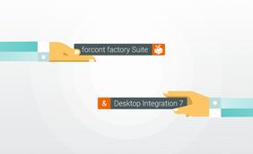 forcont factory Suite mit Desktop Integration 7