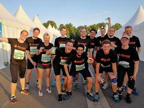 Das forcont Team beim Firmenlauf Leipzig 2019