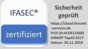 IFASEC Siegel