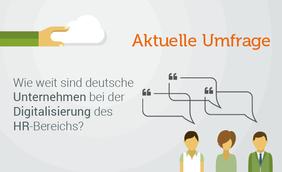 HR-Umfrage zum Status quo der Digitalisierung