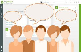 Kundenumfrage digitale Personalakte forpeople