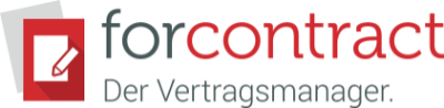 forcontract - digitales Vertragsmanagement Logo