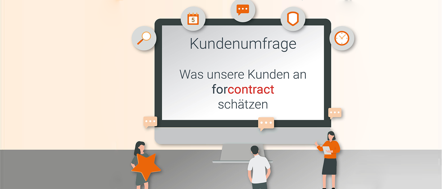 Kundenumfrage forcontract